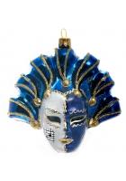 Елочная игрушка «Карнавальная маска»