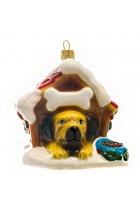 Елочная игрушка «Пёс-сторож»