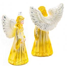 Макушка на елку «Ангел в золотом платье», Bombki, Польша