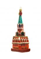 Елочная игрушка «Спасская башня»