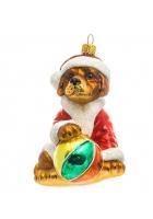 Елочная игрушка «Лабрадор с мячиком»