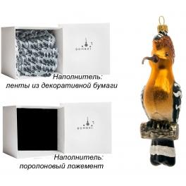 Елочная игрушка «Удод», материал: стекло, производство Польша