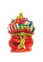 Елочная игрушка «Мешок с подарками»