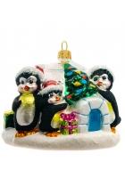 Елочная игрушка «Елка для пингвинов»