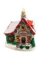 Елочная игрушка «Дом Деда Мороза»