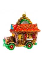 Елочная игрушка «Пряничный автомобиль»