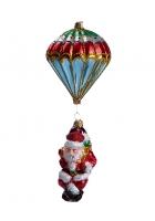 Елочная игрушка «Санта-парашютист»