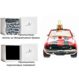 Елочная игрушка ручной работы «Мустанг», производство Польша