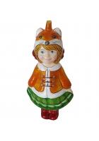 Ёлочная игрушка Детский праздник «Лисичка»