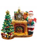 Ёлочная игрушка «Волшебство новогодней ночи»