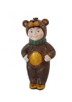 Ёлочная игрушка Детский праздник «Медвежонок»