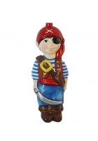 Ёлочная игрушка Детский праздник «Мальчик в костюме пирата»