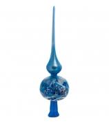 Макушка на елку «Голубой иней»