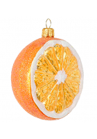 Елочная игрушка «Сладкий апельсин»