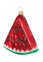 Елочная игрушка «Красный арбуз»