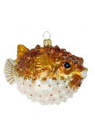 Елочная игрушка «Рыба Иглобрюшка»