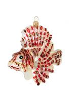 Елочная игрушка «Рыба Лев»