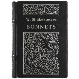 Подарочная миниатюрная книга W.Shakespeare «Sonnets» (eng)
