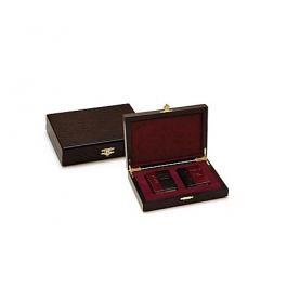 Подарочный набор миниатюрных кожаных книг «Восточная мудрость» в шкатулке.