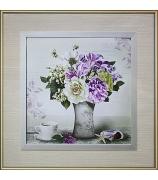 Картина «Пионы в вазе»