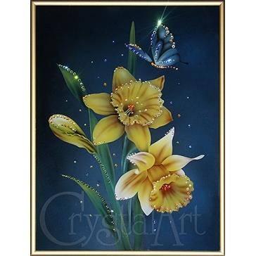 Картина Сваровски «Нарциссы»