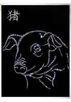 Картина «Символ года Свинья»