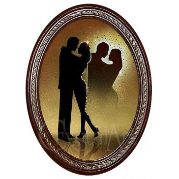 Картина Сваровски «Встреча влюбленных»