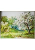 Картина «Весенний сад»