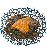 Настенное панно «Денежная рыбка»