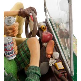 Авторская статуэтка Форчино «Гольфкар» в фирменной упаковке.