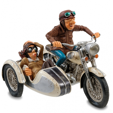 Дизайнерская фигурка «Мотоцикл с коляской», Форчино