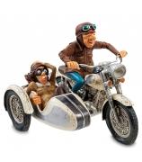Мотоцикл с коляской, дизайнер  Форчино