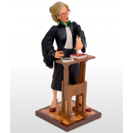 Коллекционная авторская статуэтка «Леди Адвокат», Forchino, Франция