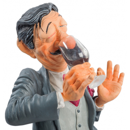 Авторская статуэтка Форчино «Дегустатор» или «Сомелье» в фирменной упаковке.