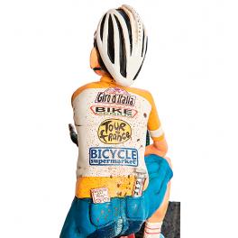Коллекционная авторская статуэтка «Велосипедист»