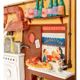 Авторское настенное панно Форчино «Восхитительная кухня»