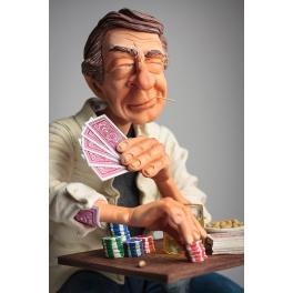 Статуэтка Форчино «Игрок в покер»