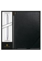 Подарочный набор Cross: шариковая ручка и записная книжка