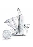 Набор VICTORINOX: нож Huntsman и серебряная монета