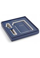 Подарочный набор Waterman: шариковая ручка и блокнот