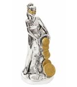 Статуэтка «Богиня удачи с рогом изобилия»