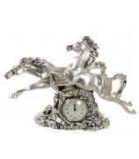 Настольные часы «Кони»