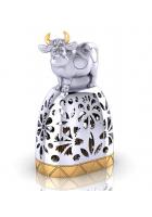 Серебряный колокольчик «Счастливый бычок»