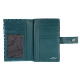 Лаковый кошелёк из натуральной кожи