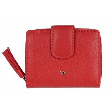Кожаный кошелёк для женщины