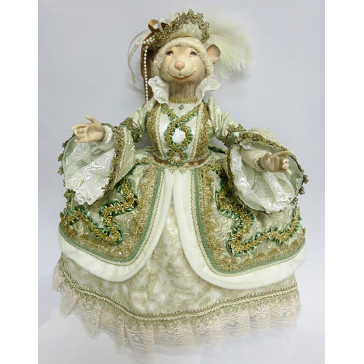 Коллекционная кукла «Леди Мышка»