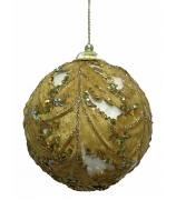 Елочный шар «Листья аканта»
