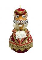 Елочное украшение «Тигр в шляпе»