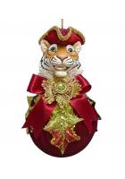 Елочное украшение «Тигр на шаре»