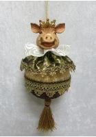 Елочное украшение «Сэр Свин»